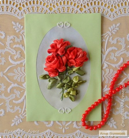 """Открытка """"Весенние цветы"""" фото 11"""