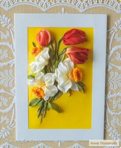 """Открытка """"Весенние цветы"""" фото 1"""