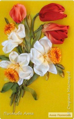 """Открытка """"Весенние цветы"""" фото 2"""