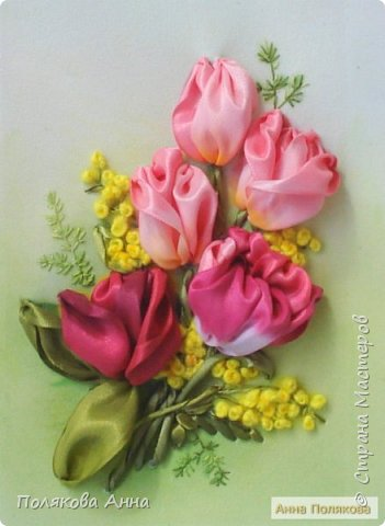 """Открытка """"Весенние цветы"""" фото 6"""