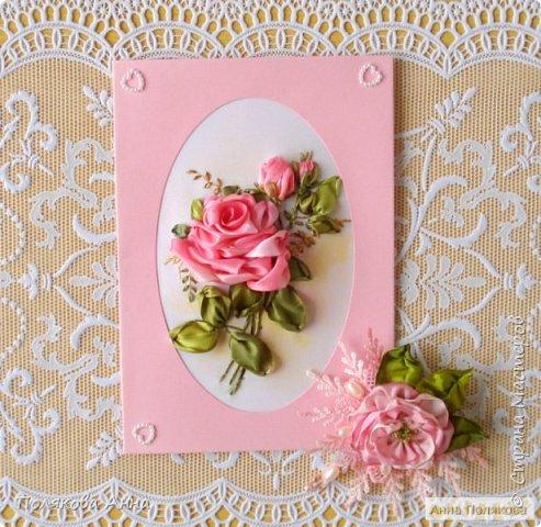 """Открытка """"Весенние цветы"""" фото 8"""