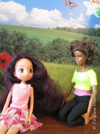Привет всем!  Юми: Скучно... Челл с Мышем играет, а Дария еду готовит.  фото 2
