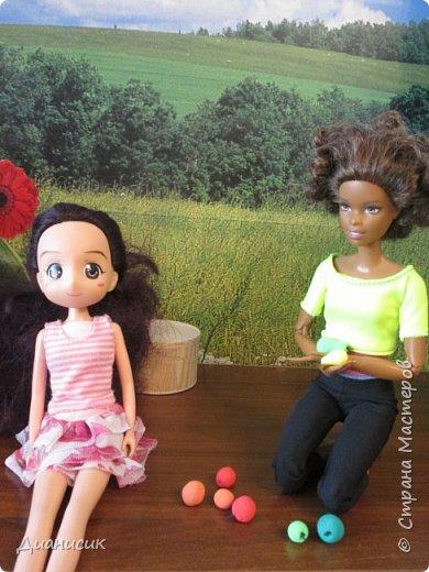 Привет всем!  Юми: Скучно... Челл с Мышем играет, а Дария еду готовит.  фото 7