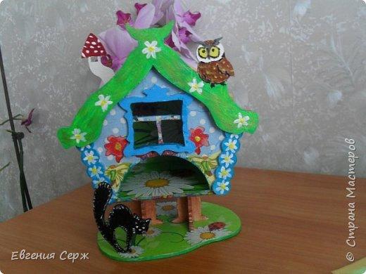 Всем добрый вечер или у кого день!!! Очередной чайный домик из хомячих запасов(осталось немножко) фото 3