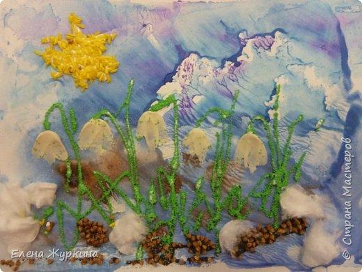 В нашей Арт-студии уже появились первые подснежники! Встречаем долгожданную весну! Аликова Таисия 3,8. фото 6
