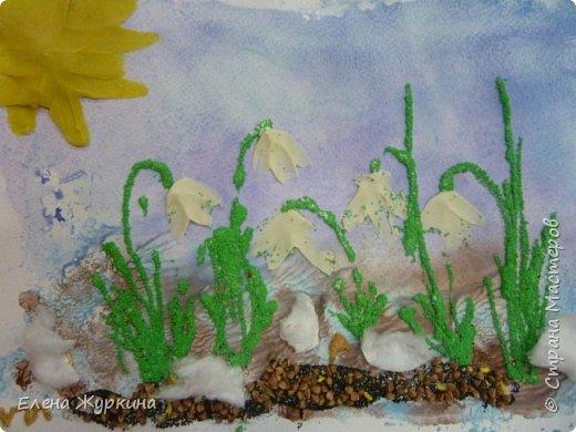 В нашей Арт-студии уже появились первые подснежники! Встречаем долгожданную весну! Аликова Таисия 3,8. фото 7