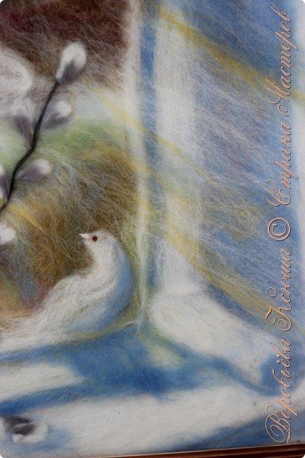 Эта моя третья работа в технике шерстяная акварель. Кому интересно может посмотреть мою первую и вторую работы в этой технике : http://stranamasterov.ru/node/1012945 фото 4