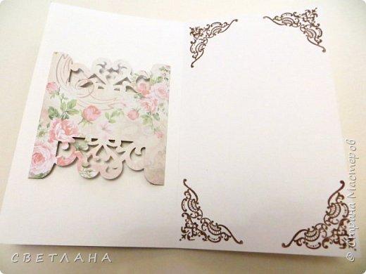 Покажу немного новенького... Коробочка подарочная - упаковка для небольшого подарка  (  или денег)  +  открытка фото 7