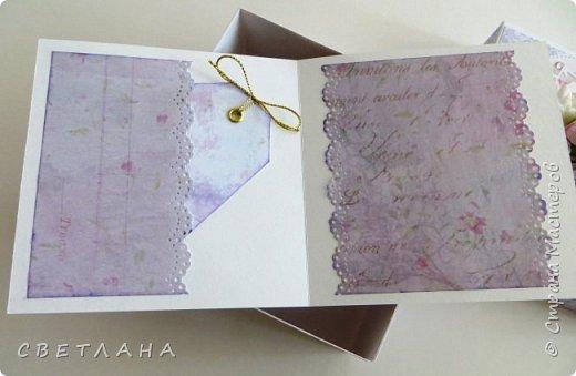 Покажу немного новенького... Коробочка подарочная - упаковка для небольшого подарка  (  или денег)  +  открытка фото 3