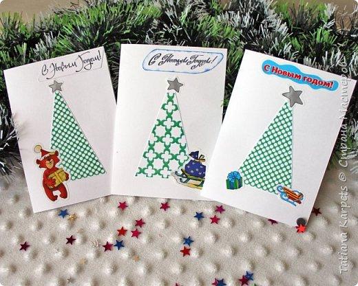 """Новогодние открытки для родных и близких (""""Творим"""" вместе с детьми) фото 4"""