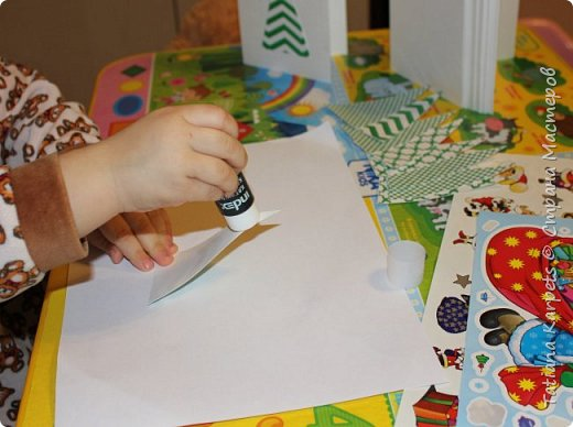 """Новогодние открытки для родных и близких (""""Творим"""" вместе с детьми) фото 6"""
