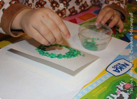 """Новогодние открытки для родных и близких (""""Творим"""" вместе с детьми) фото 10"""