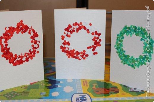 """Новогодние открытки для родных и близких (""""Творим"""" вместе с детьми) фото 12"""