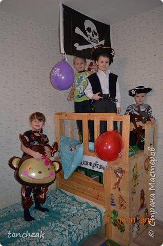 День рождения в пиратском стиле. фото 1