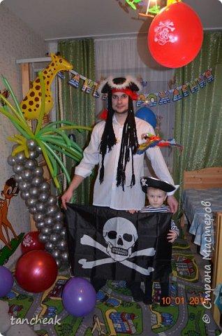День рождения в пиратском стиле. фото 8