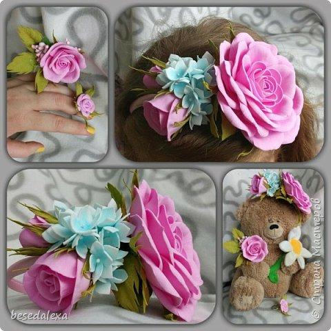 Розы ручной работы фото 7
