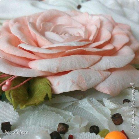 Розы ручной работы фото 2