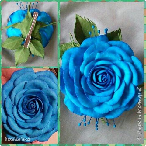 Розы ручной работы фото 5