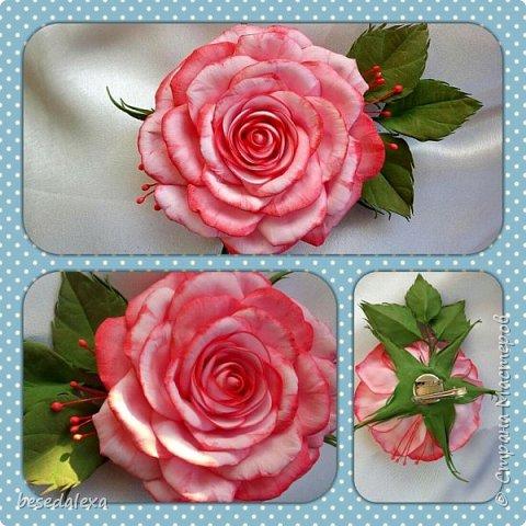 Розы ручной работы фото 6