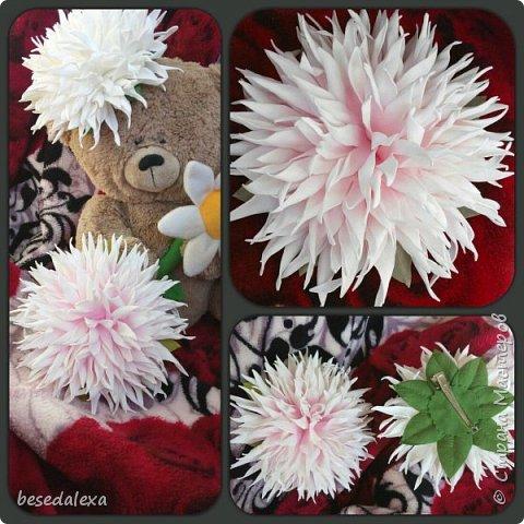 хризантемы ручной работы фото 3