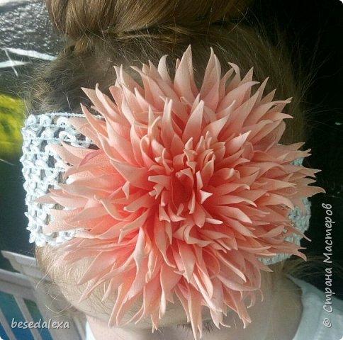 хризантемы ручной работы фото 4