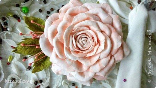 Розы ручной работы фото 1