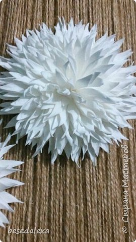 хризантемы ручной работы фото 1