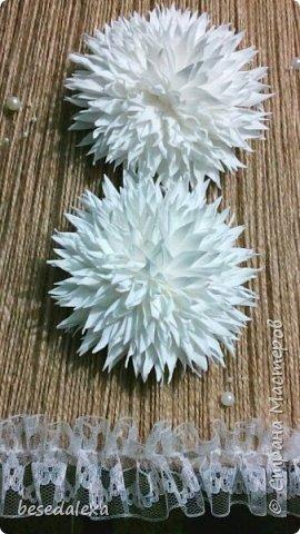 хризантемы ручной работы фото 2