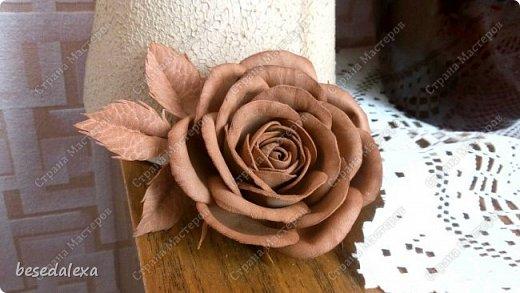 Розы ручной работы фото 3