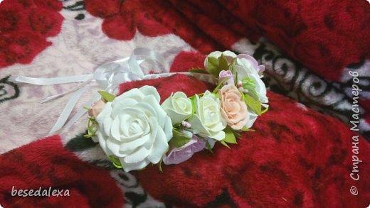 Розы ручной работы фото 8