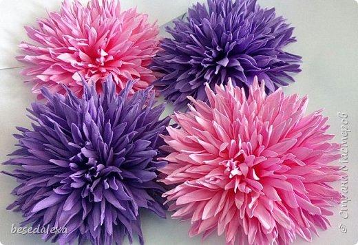 хризантемы ручной работы фото 6