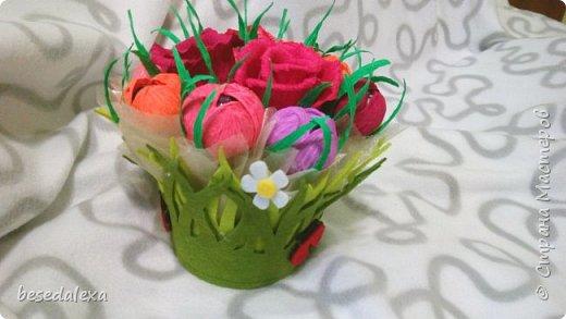 Букеты из конфет фото 7