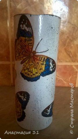 Посмотрев работы мастеров очень захотелось сделать и себе вазочку из такой бутылки фото 10