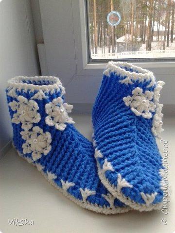 Тапочки для Снегурочки фото 1