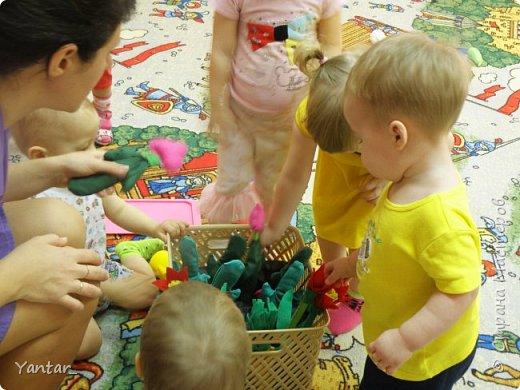 Увидела в интернете идею вот такой игры и очень захотелось повторить для наших малышей. фото 7