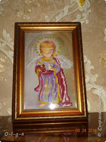 Ангел со свечой фото 1