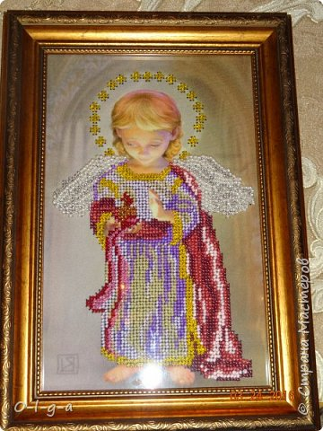 Ангел со свечой фото 3