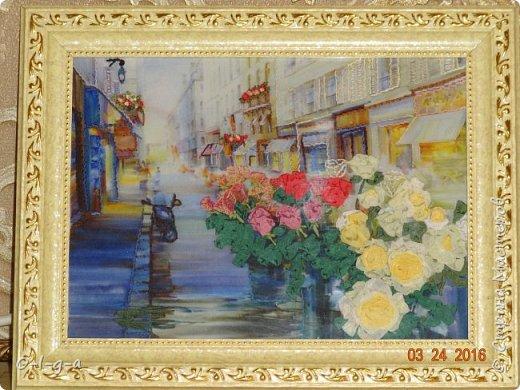 Розы на улицах Парижа фото 1