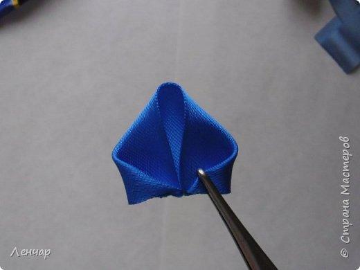 Добрый день, Страна. Выкладываю на ваш суд МК такой розы. Сама я такую розу первый раз увидела у Олеси Иноземцевой в Одноклассниках ( только у неё была просто заколка, не на ножке). фото 7