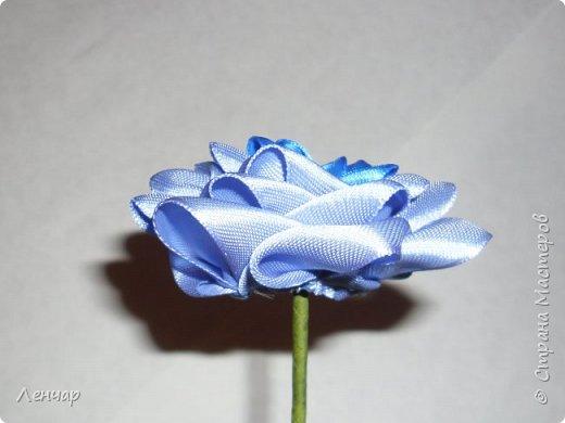 Добрый день, Страна. Выкладываю на ваш суд МК такой розы. Сама я такую розу первый раз увидела у Олеси Иноземцевой в Одноклассниках ( только у неё была просто заколка, не на ножке). фото 20