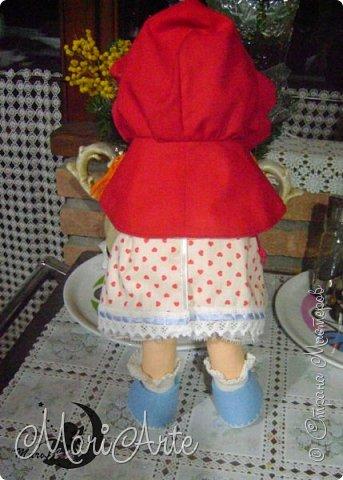 Красная Шапочка сшита по М.К. из интернета ( к  сожалению не знаю кто автор) фото 4