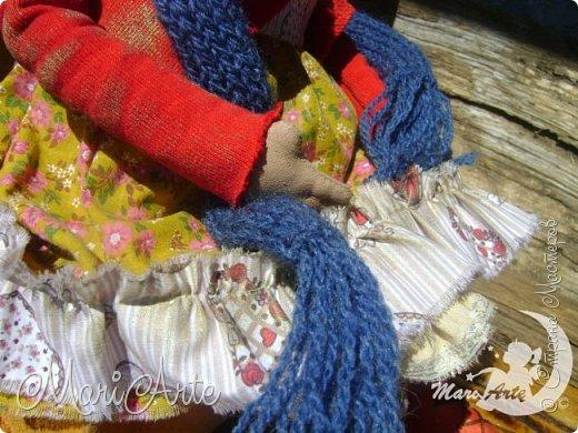 Кукла сшита по мотивам работ Татьяны Козыревой фото 3