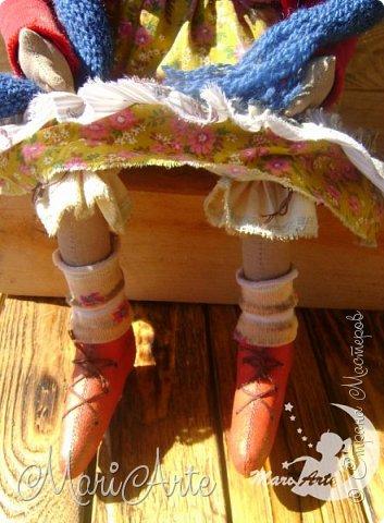 Кукла сшита по мотивам работ Татьяны Козыревой фото 4