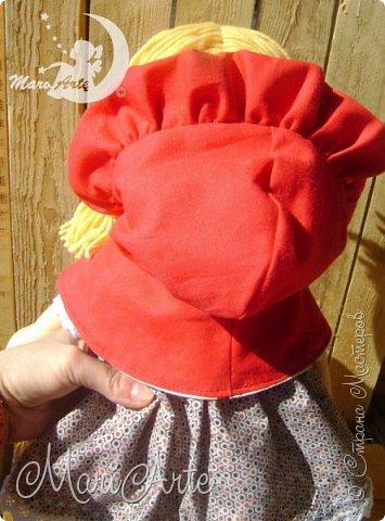 Красная Шапочка сшита по М.К. из интернета ( к  сожалению не знаю кто автор) фото 9