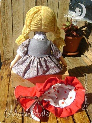 Красная Шапочка сшита по М.К. из интернета ( к  сожалению не знаю кто автор) фото 12