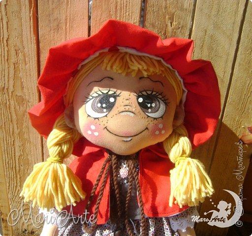 Красная Шапочка сшита по М.К. из интернета ( к  сожалению не знаю кто автор) фото 15