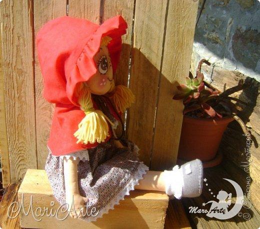 Красная Шапочка сшита по М.К. из интернета ( к  сожалению не знаю кто автор) фото 13
