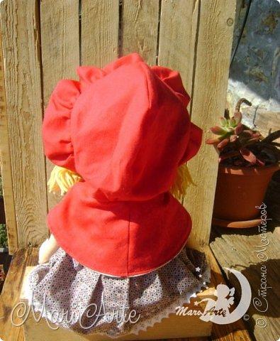 Красная Шапочка сшита по М.К. из интернета ( к  сожалению не знаю кто автор) фото 14