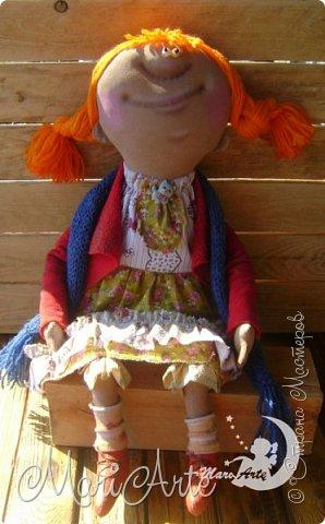 Кукла сшита по мотивам работ Татьяны Козыревой фото 2