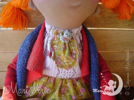 Кукла сшита по мотивам работ Татьяны Козыревой фото 6